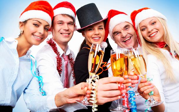 Стихи поздравление коллектива в новый год